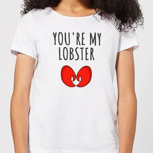 Be My Pretty You're My Lobster Women's T-Shirt - White