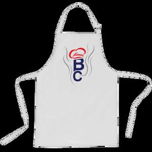 British Cook Letters Apron - White