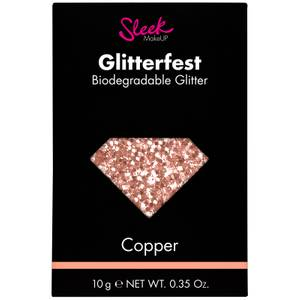 Sleek MakeUP Glitterfest Biodegradable Glitter - Copper 10 g