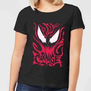 Venom Carnage Women's T-Shirt - Black