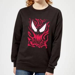 Sweat Femme Venom Carnage Marvel - Noir