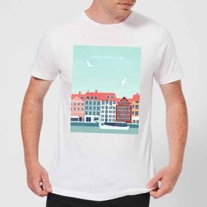 Copenhagen Men's T-Shirt - White