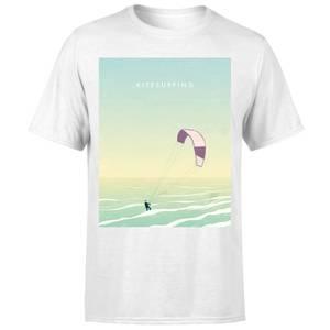 Kitesurfing Men's T-Shirt - White