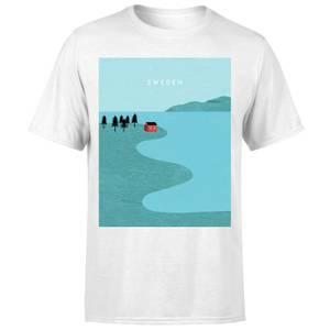 Sweden Men's T-Shirt - White
