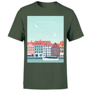 Copenhagen Men's T-Shirt - Forest Green