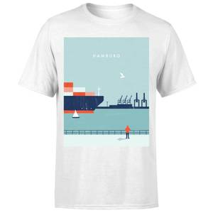 Hamburg Men's T-Shirt - White
