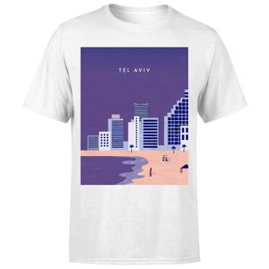 Tel Aviv Men's T-Shirt - White