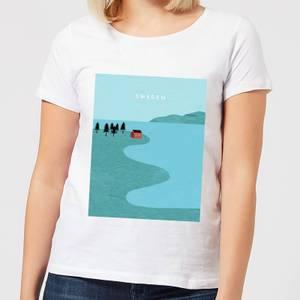 Sweden Women's T-Shirt - White