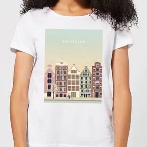 Amsterdam Women's T-Shirt - White
