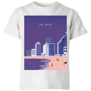 Tel Aviv Kids' T-Shirt - White