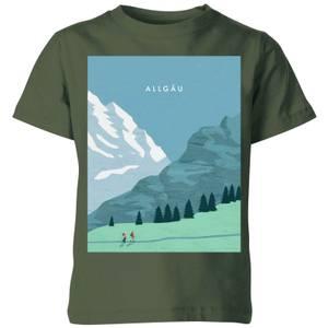 Algau Kids' T-Shirt - Forest Green