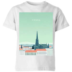 Vienna Kids' T-Shirt - White