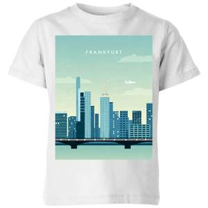 Frankfurt Kids' T-Shirt - White
