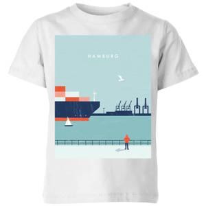 Hamburg Kids' T-Shirt - White
