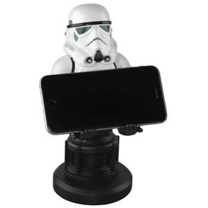 Star Wars Collectible Stormtrooper 8 Inch Cable Guy Controller and Smartphone Stand