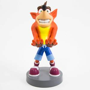 Crash Bandicoot Collectible 8 Inch Cable Guy Controller and Smartphone Stand