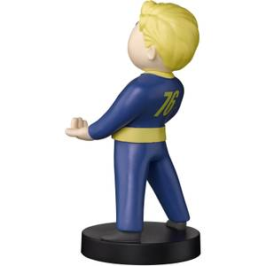 Figurine de support Cable Guy à collectionner pour manette ou smartphone – Fallout – Vault Boy 76 – env. 20 cm