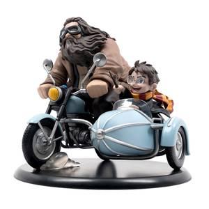 Quantum Mechanix Harry Potter and Rubeus Hagrid Q-Fig Max