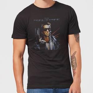 Camiseta Terminator Vintage - Hombre - Negro
