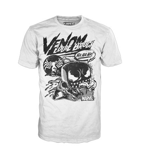 Marvel Venom Comic Collage Pop! Tee - White