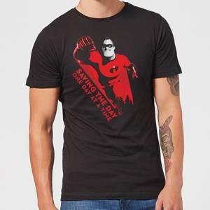 T-Shirt Homme Saving The Day Les Indestructibles 2 - Noir