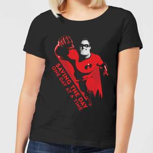 Camiseta Los Increíbles 2 Saving The Day - Mujer - Negro