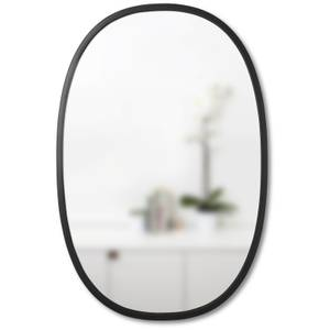 Umbra Hub 91cm Oval Mirror - Black