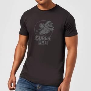 Nintendo Super Mario Super Dad Men's T-Shirt - Black