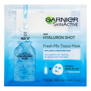 Garnier Fresh-Mix Replumping Face Sheet Shot Mask with Hyaluronic Acid 33g