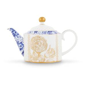 Pip Studio Small Royal Teapot - White