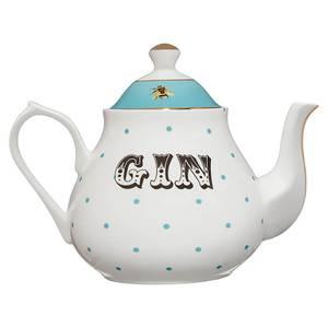Yvonne Ellen Gin Teapot - White