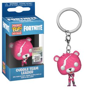 Fortnite Cuddle Team Leader Funko Pop! Keychain