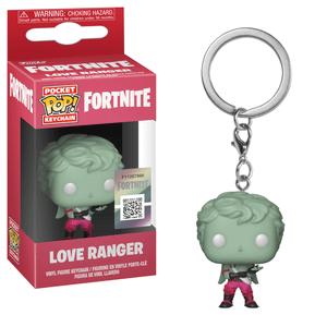 Fortnite Love Ranger Funko Pop! Keychain