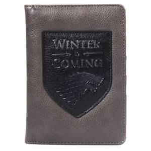 Game of Thrones – Étui de passeport – Winter Is Coming (L'hiver vient)