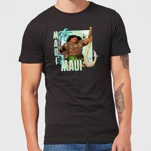 T-Shirt Homme Maui Vaiana, la Légende du bout du monde Disney - Noir