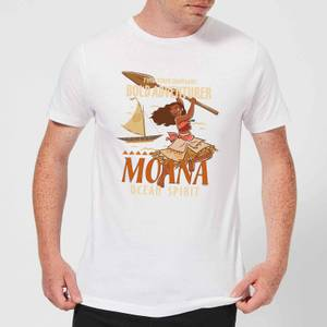 Disney Moana Find Your Own Way Men's T-Shirt - White