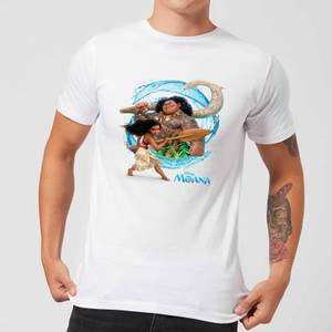 Moana Wave T-shirt - Wit