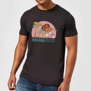 T-Shirt Homme Read The Sea Vaiana, la Légende du bout du monde Disney - Noir