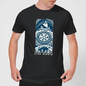 Disney Moana Star Reader Men's T-Shirt - Black