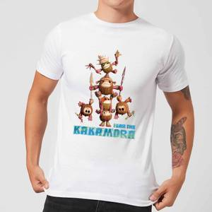 Disney Moana Fear The Kakamora Men's T-Shirt - White