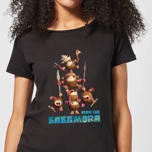 T-Shirt Femme Kakamora Pyramide Vaiana, la Légende du bout du monde Disney - Noir