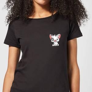 Moana Pua The Pig Women's T-Shirt - Black