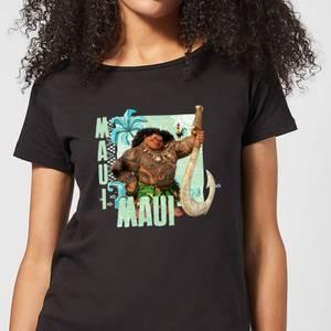 Moana Maui Women's T-Shirt - Black