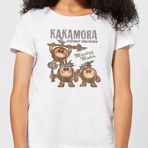 Moana Kakamora Mischief Maker Dames T-shirt - Wit