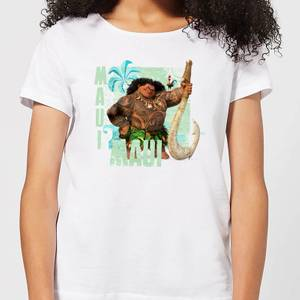 Moana Maui Women's T-Shirt - White