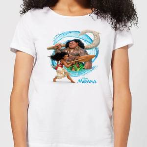 Moana Wave Women's T-Shirt - White