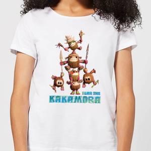 Moana Fear The Kakamora Women's T-Shirt - White