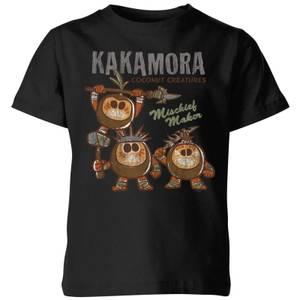 Moana Kakamora Mischief Maker Kids' T-Shirt - Black