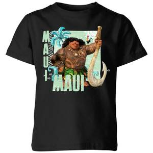 Moana Maui Kids' T-Shirt - Black