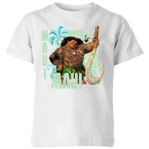 Moana Maui Kids' T-Shirt - White